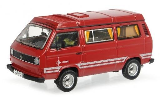 Volkswagen T3 1/43 Schuco b Westfalia Joker red/Dekor diecast model cars