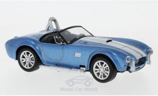 Shelby Cobra 1/43 Shelby Collectibles 427 S/C metallise bleue/blanche 1962 miniature