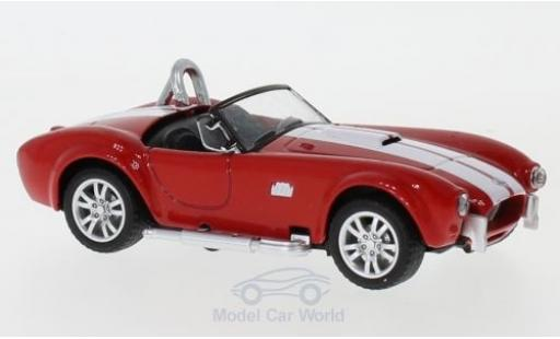 Shelby Cobra 1/43 Shelby Collectibles 427 S/C rouge/blanche 1962 miniature