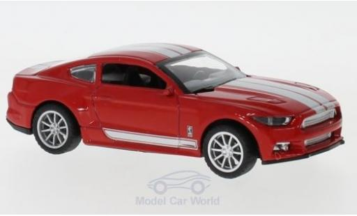 Shelby Mustang 1/43 Shelby Collectibles GT350 rouge/grise 2016 miniature