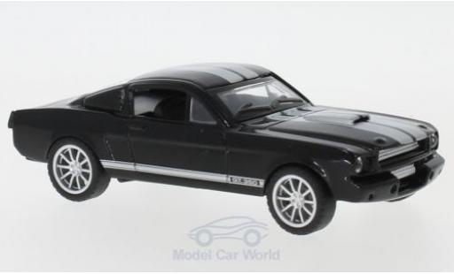 Shelby Mustang 1/43 Shelby Collectibles GT350 noire/grise 1965 miniature