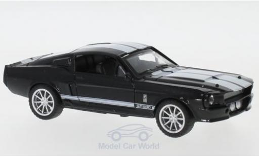 Shelby Mustang 1/43 Shelby Collectibles GT500 noire/blanche 1967 miniature