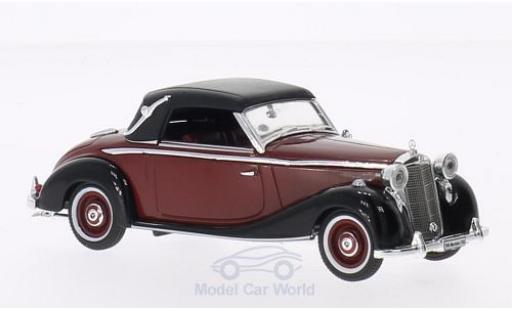Mercedes 170 1/43 Signature S dunkelrouge/noire 1950 miniature