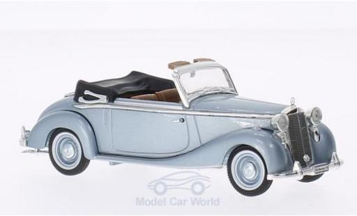 Mercedes 170 1/43 Signature S metallise bleue 1950 miniature