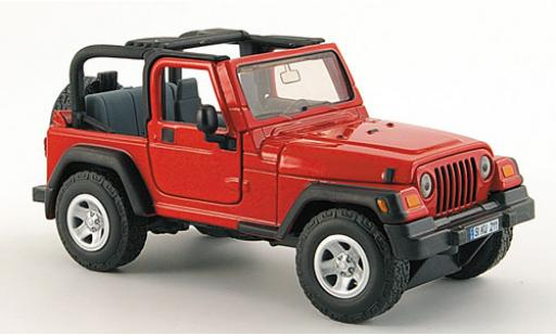 Jeep Wrangler 1/32 Siku rouge miniature