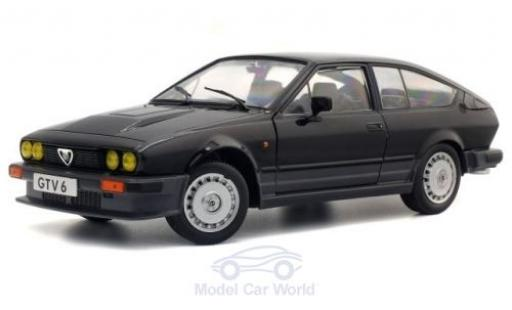 Alfa Romeo GT 1/18 Solido V6 black 1984 diecast model cars
