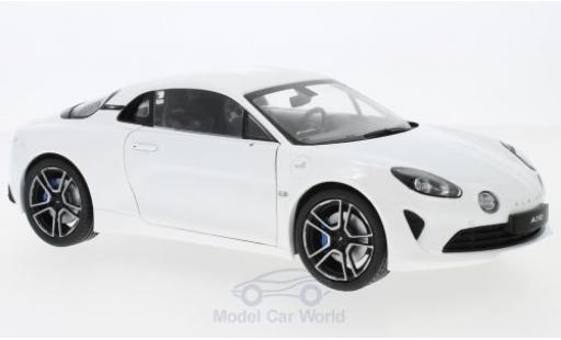 Alpine A110 1/18 Solido Premiere Edition white 2017 diecast model cars