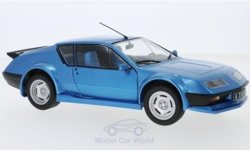 Alpine A310 1/18 Solido Renault A 310 Pack GT metallise bleue 1983 miniature