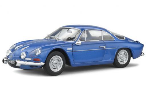 Alpine A110 1/18 Solido Renault 1600S metallise bleue 1969 miniature