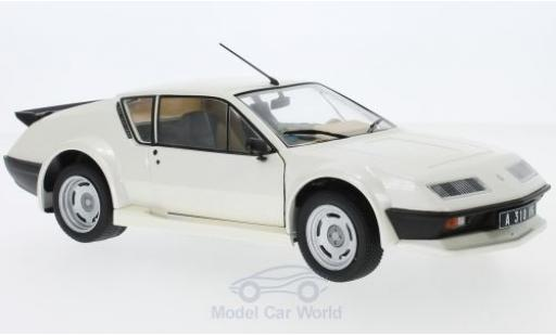 Alpine A310 Pack GT 1/18 Solido Renault metallise blanche 1983 miniature