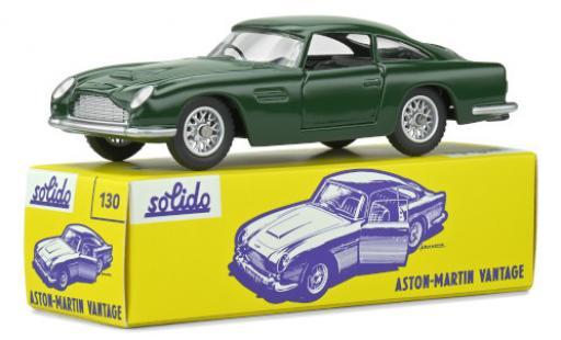 Aston Martin DB5 1/43 Solido Vantage verte RHD miniature