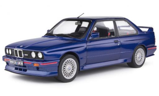 Bmw M3 1/18 Solido (E30) metallise blue/Dekor 1990 y compris les Decals diecast model cars