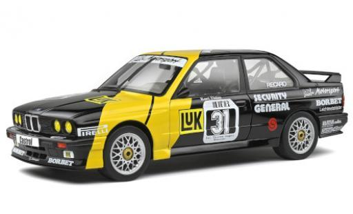 Bmw M3 1/18 Solido (E30) No.31 MK Motorsport DTM 1988 K.Thiim diecast model cars