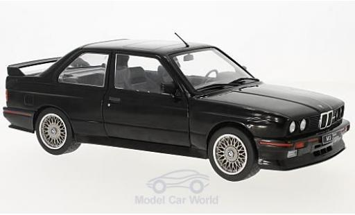 Bmw M3 1/18 Solido (E30) Sport Evo black 1990 diecast model cars