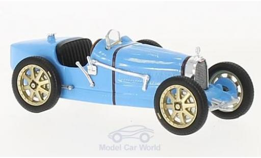 Bugatti 35 1/43 Solido TB bleue RHD 1928 miniature