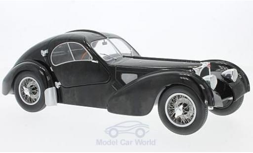 Bugatti 57 SC 1/18 Solido Type Atlantic noire RHD miniature
