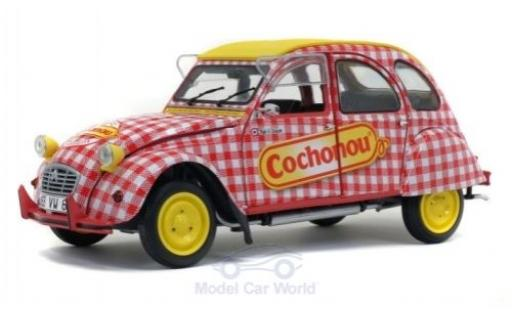 Citroen 2CV 1/18 Solido 6 Cochonou 1985 diecast model cars