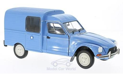 Citroen Acadiane 1/18 Solido bleue 1984 miniature