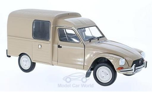 Citroen Acadiane 1/18 Solido beige 1984 diecast model cars