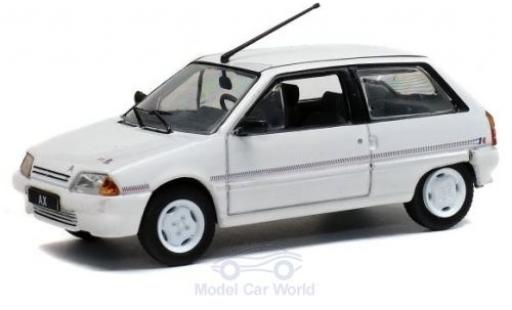 Citroen AX 1/43 Solido Kway white 1988 diecast model cars