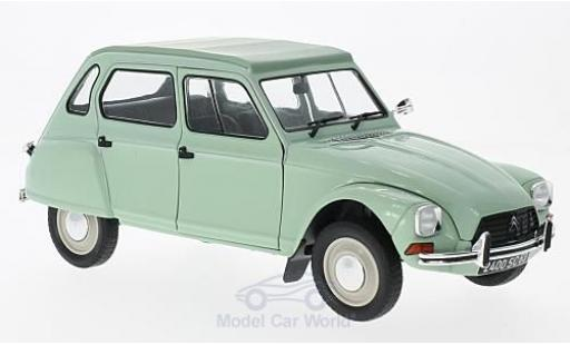 Citroen Dyane 1/18 Solido 6 green 1967 diecast model cars