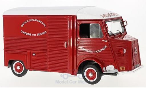 Citroen HY 1/18 Solido 1969 Feuerwehr (F) miniature