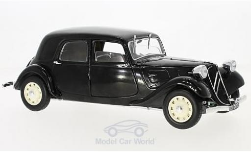 Citroen Traction 1/18 Solido 11 CV noire 1937 miniature