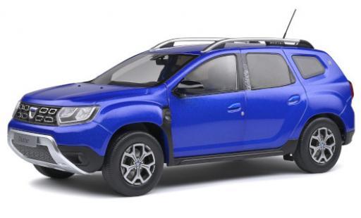 Dacia Duster 1/18 Solido MKII metallise bleue 2018 miniature