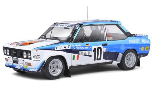 Fiat 131 1/18 Solido Abarth No.10 VS Corse Olio Rallye WM Rallye Monte Carlo 1980 W.Röhrl/C.Geistdörfer diecast model cars