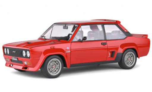 Fiat 131 1/18 Solido Abarth red 1980 diecast model cars
