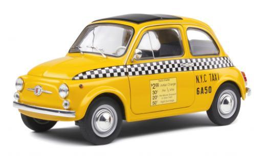 Fiat 500 1/18 Solido L NYC Taxi 1965 diecast model cars