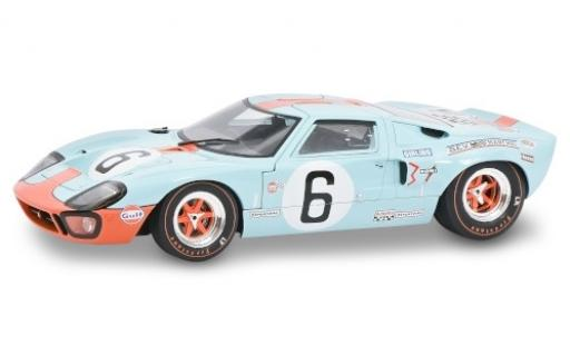 Ford GT40 1/18 Solido RHD No.6 John Wyer Automotive Engineering 24h Le Mans 1969 J.Ickx/J.Oliver miniature