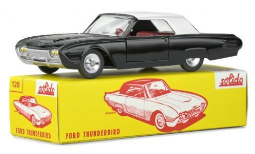 Ford Thunderbird 1/43 Solido Hardtop black/grey 1963