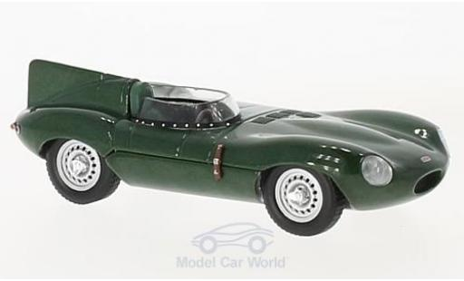Jaguar D-Type 1/43 Solido verte RHD 1952 miniature