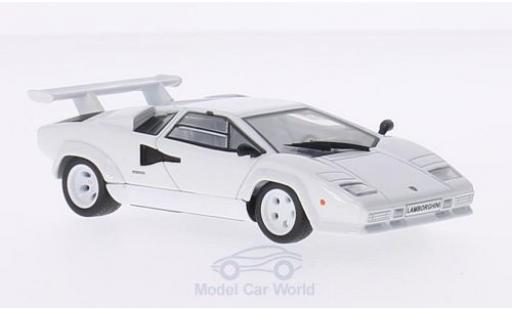 Lamborghini Countach 1/43 Solido LP500S blanche miniature