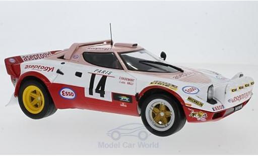 Lancia Stratos Rallye 1/18 Solido HF Aseptogyl WM Monte Carlo 1977 C.Dacremont/C.Galli miniature