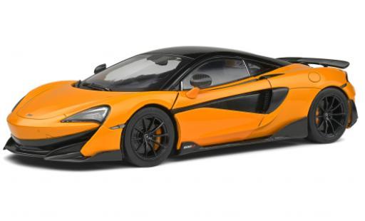 McLaren 600 1/18 Solido LT orange 2018 diecast model cars