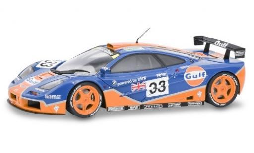 McLaren F1 1/18 Solido GTR No.33 Gulf 24h Le Mans 1996 R.Bellm/J.Weaver/J.J.Lehto diecast model cars