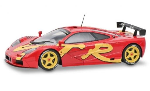 McLaren F1 1/18 Solido GTR red/Dekor 1996 diecast model cars