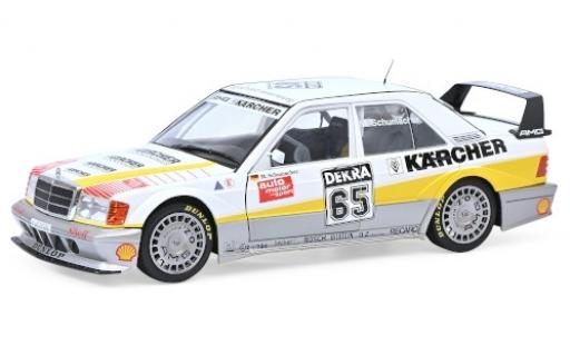 Mercedes 190 1/18 Solido E 2.5-16 Evo 2 No.65 Kärcher DTM 1990 M.Schumacher diecast model cars