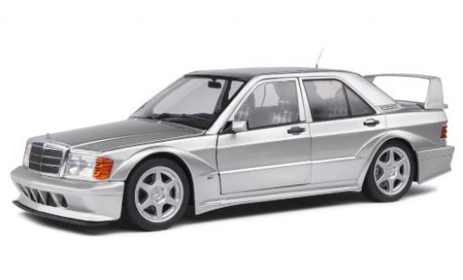Mercedes 190 1/18 Solido E 2.5-16 Evo 2 (W201) grey 1990 diecast model cars