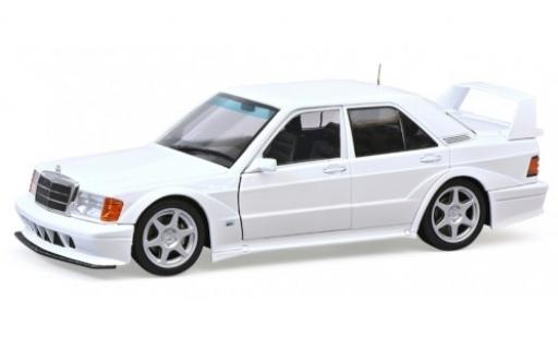 Mercedes 190 1/18 Solido E 2.5-16 Evo 2 white 1990 diecast model cars