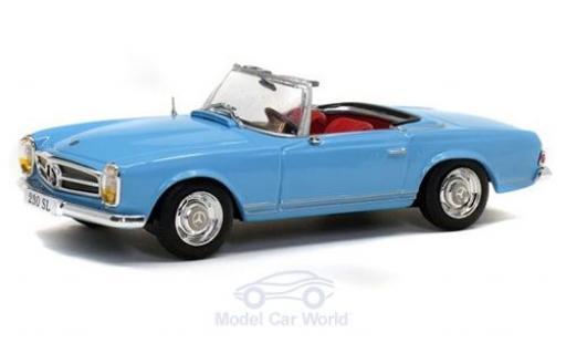 Mercedes 230 1/43 Solido SL (W113) blau 1963 modellautos