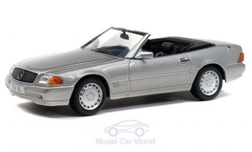 Mercedes 500 1/43 Solido SL (R109) grey 1989 diecast