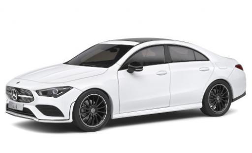 Mercedes CLA 1/18 Solido Coupe AMG Line (C118) blanche 2019 miniature