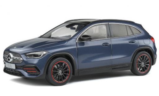 Mercedes Classe GLA 1/18 Solido GLA AMG Line (H247) metallise bleue 2020 miniature