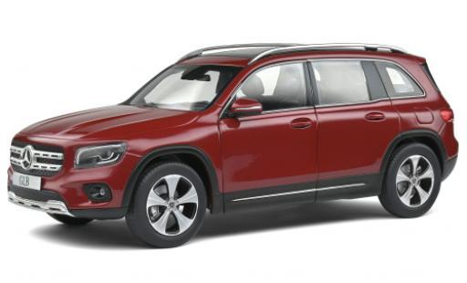 Mercedes Classe G 1/18 Solido GLB (X247) metallise red 2019 diecast model cars