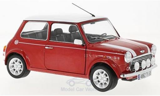 Mini Cooper S 1/18 Solido 1.3i port Pack rouge/blanche miniature