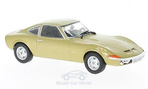 Opel GT 1/43 Solido gold 1968 diecast model cars