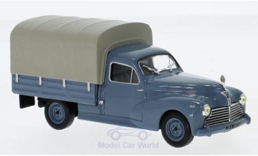 Peugeot 203 1/43 Solido Pick Up blue 1952 diecast